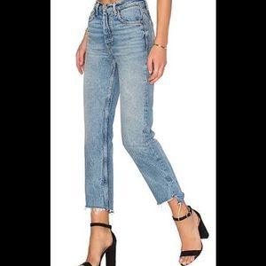 GRLFRND high rise Helena jeans Sz 28